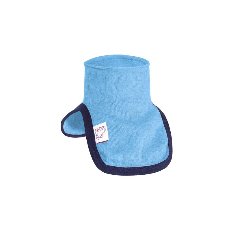 Woolpower Kids Mock Turtleneck 200 Blau