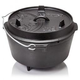 Petromax Dutch Oven Feuertopf mit Füßen und Deckel
