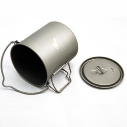 Toaks Titanium 750 Topf - mit Henkel und Klappgriffen