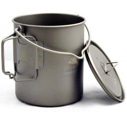 Toaks Titanium 750ml Pot mit Deckel - der hilft, unterwegs Energie zu sparen