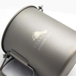 Toaks Titanium 750ml Pot - taugt als Topf, aber auch als Becher zum Trinken