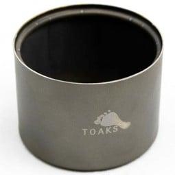 Toaks Titanium Siphon Alcohol Stove - extrem minimalistisch und ultraleicht