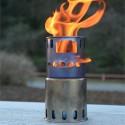 Toaks Titanium Backpacking Wood Burning Stove