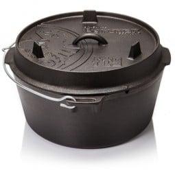 Petromax Dutch Oven Feuertopf ohne Füße FT9 mit Deckel