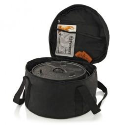 Petromax Tasche mit Feuertopf und Zubehör im Deckelfach