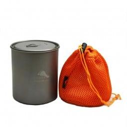 Toaks Titanium 750 ml Pot ohne Griff mit eigenem Packsack