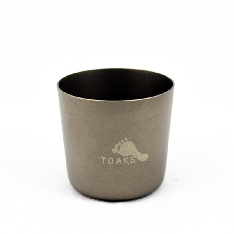 TOAKS Titanium 30ml Shot Glass