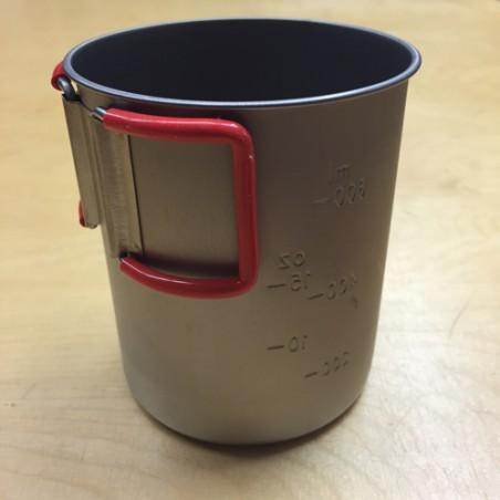 Evernew Titanium Cup 760FD