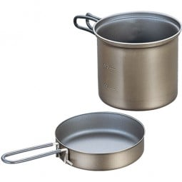 Evernew Titanium Non-Stick Deep Pot 0,9 L