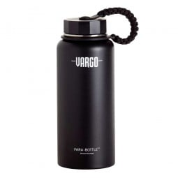 Vargo Insulated Stainless Steel Para-Bottle schwarz
