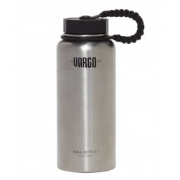 Vargo Insulated Stainless Steel Para-Bottle silber