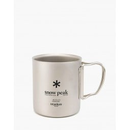 Snow Peak Ti-Double Wall 450 Mug
