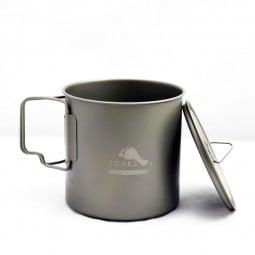 Toaks Light Titanium 650 - ultraleicht und vielseitg als Tasse und Topf zu verwenden