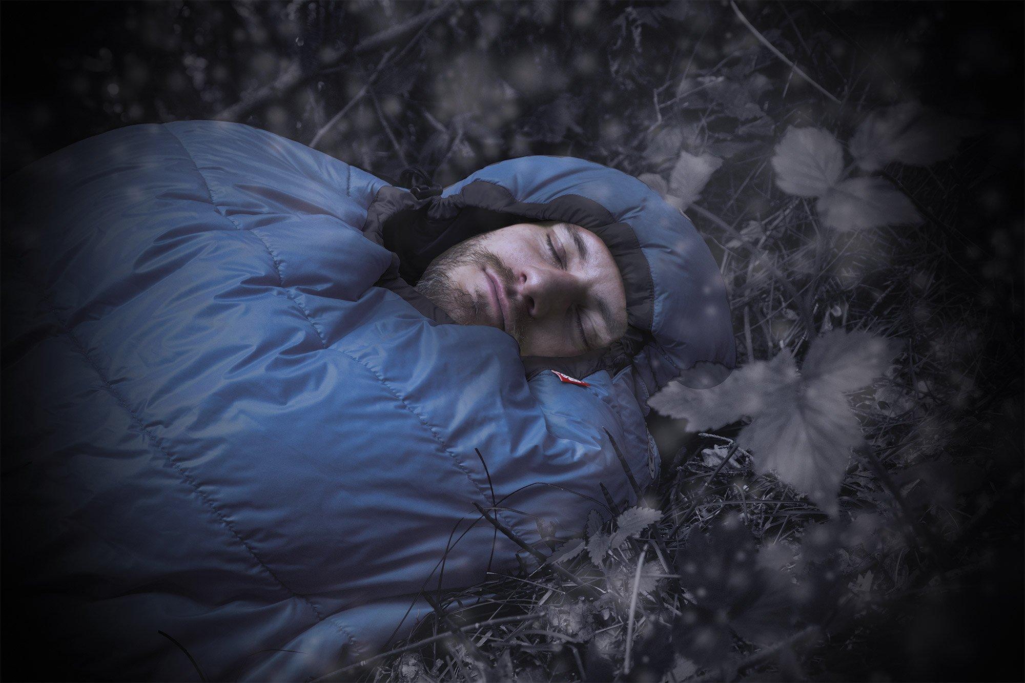 Gemütlich durchschlafen funktioniert nur mit ausreichend warmer Ausrüstung