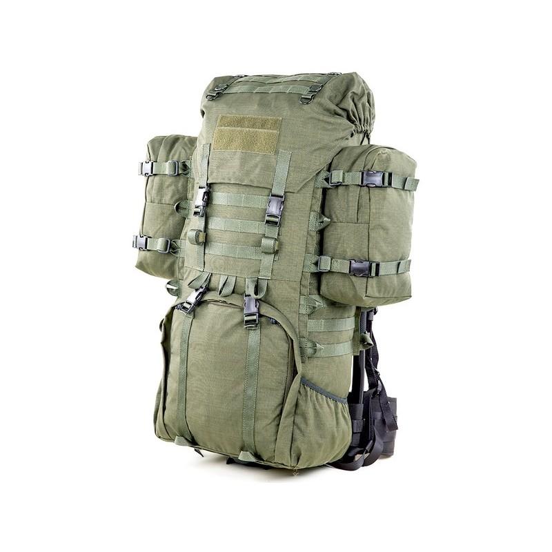 LJK Modular Rucksack von Savotta mit Zusatztaschen an den Seiten