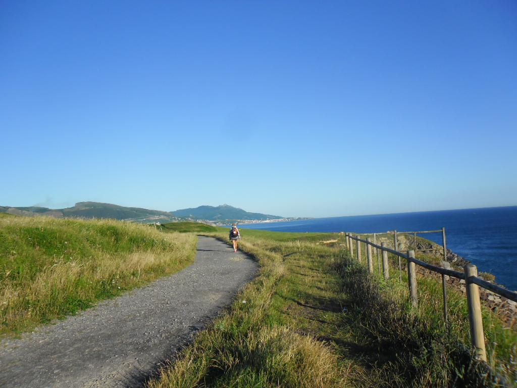 Pilgerweg am Meer