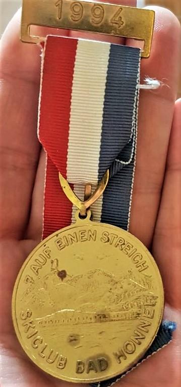 Medaille für die Langstrecke