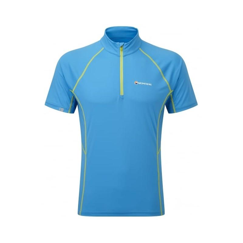 Montane Sonic T-Shirt für Herren mit Zip und Kragen