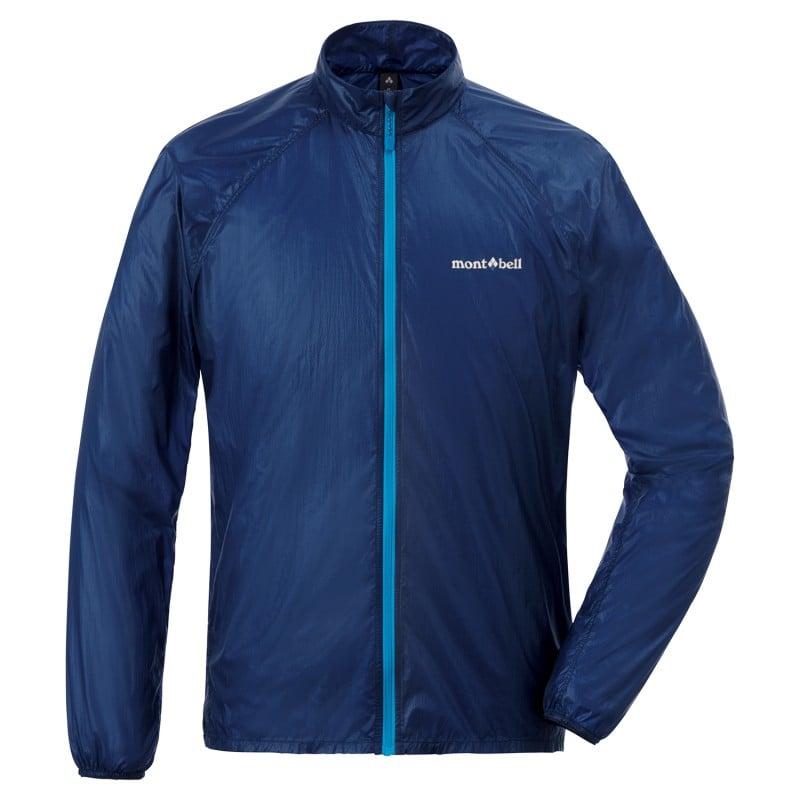 Montbell Ex Light Wind Jacket in Blau