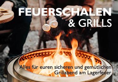 Feuerschalen und Grills